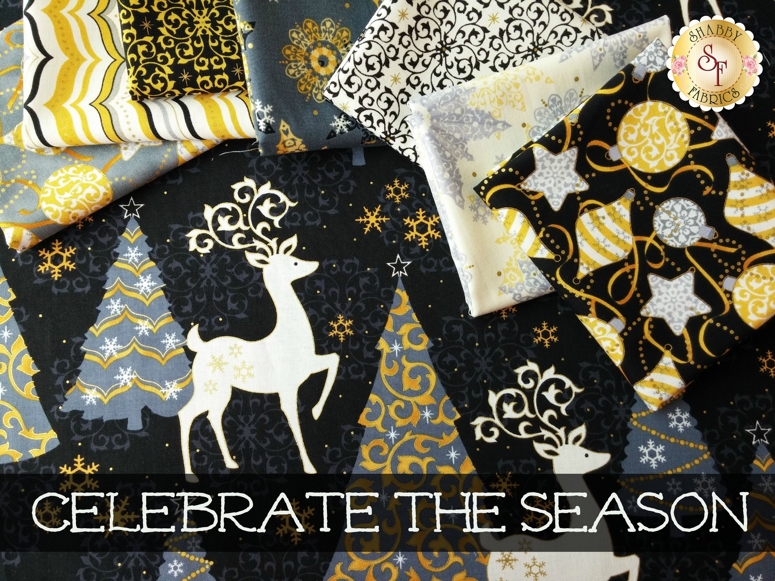 Celebrate The Season by Studio 8 for Quilting Treasures | Quilting ... : studio 8 quilting treasures - Adamdwight.com