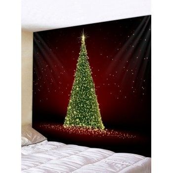 Christmas Tree Wall Tapestry Decoration Home Decor Pinterest