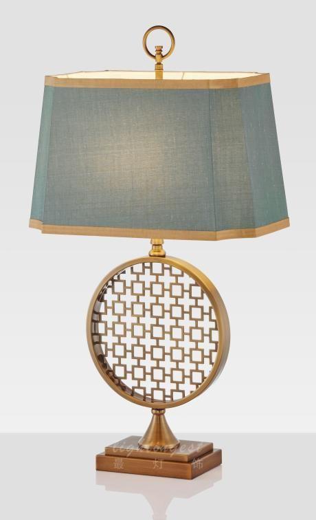 最灯饰新中式窗花台灯 Best Desk Lamp Bedside Lamp Desk Lamp