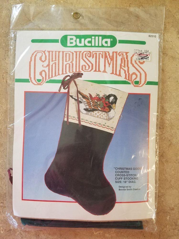 Details about VTG Bucilla Velveteen Christmas Canadian