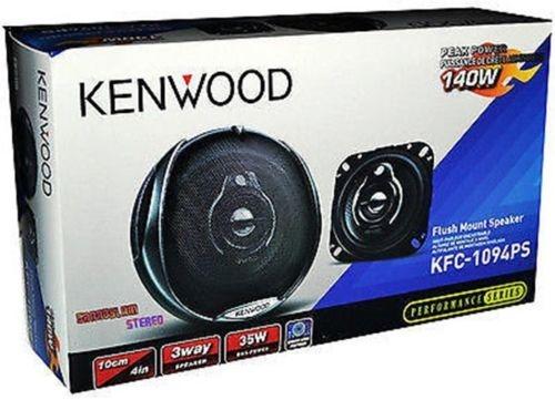 "54.59$  Watch here - http://alioyj.worldwells.pw/go.php?t=32702999826 - ""Ken-wood KFC-1094PS Flush Mount 140 Watts 4"""" 3-Way Car Speakers"" 54.59$"