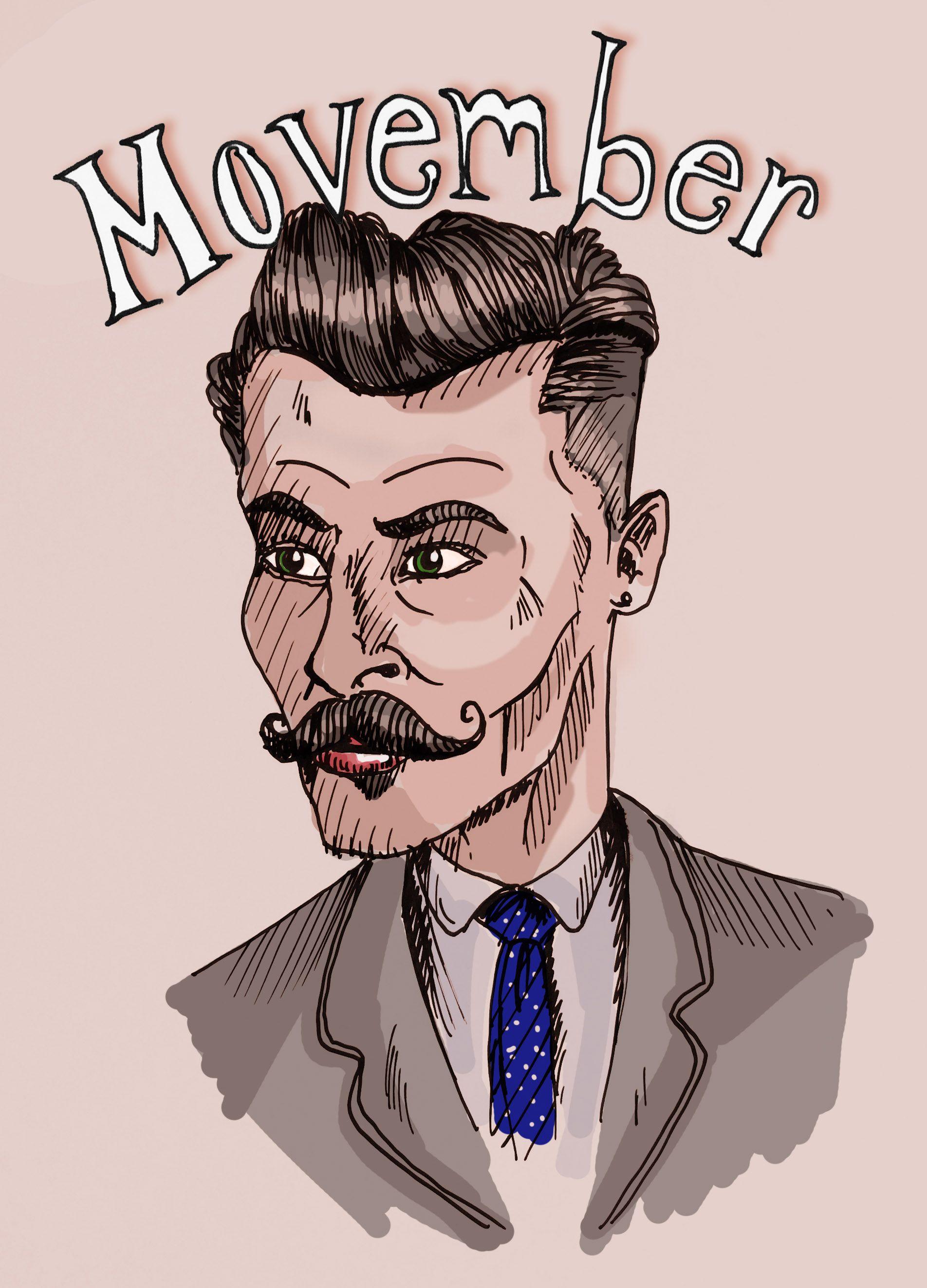 #illustration #movember