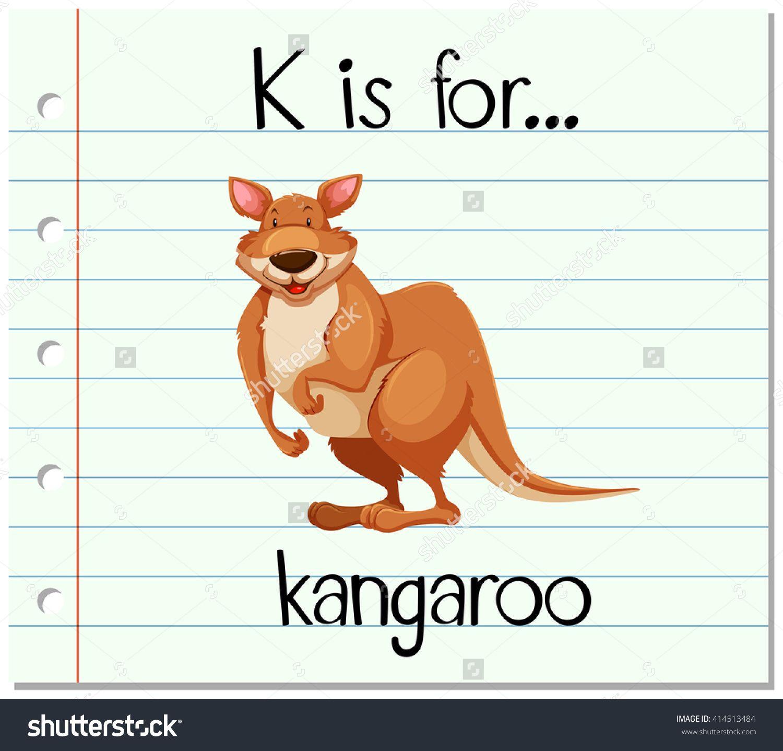 K Is For Kangaroo Alphabet For Kids