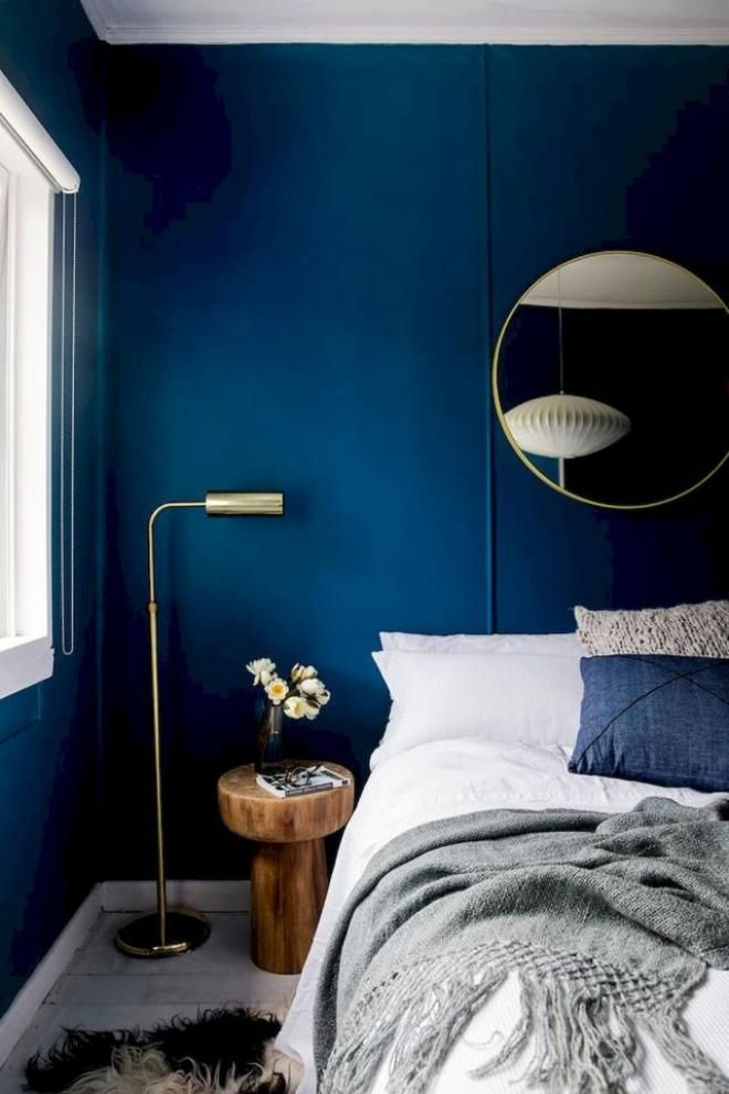 30 Attractive Navy Master Bedroom Decor You