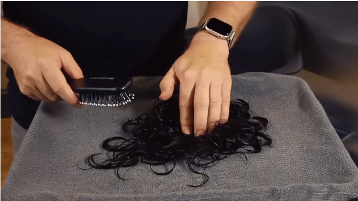 The Tips to Dry Your Hair Toupee Correctly