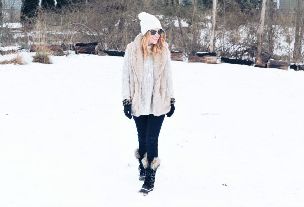 Snow Day Outfit Idea