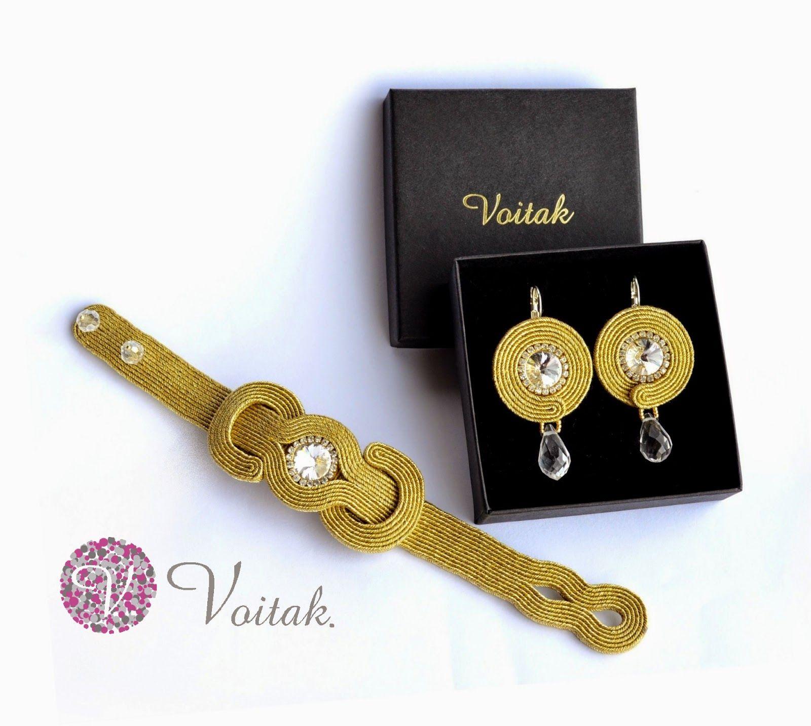 Soutache jewelry artystyczna biżuteria autorska katarzyna wojtak