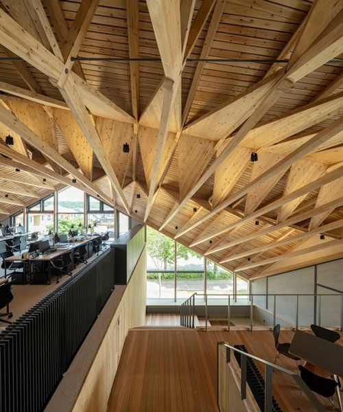 Best Uenoa Tops Japanese Office Building With Three Dimensional 400 x 300