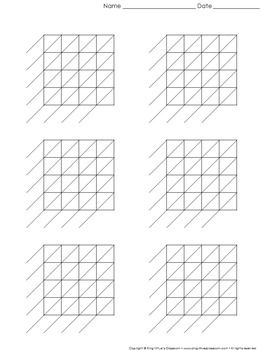 Lattice Multiplication Blank Practice Sheet 4 Digit By 4 Digit Multiplication King Virtue S Classroom Lattice Multiplication Practice Sheet Multiplication