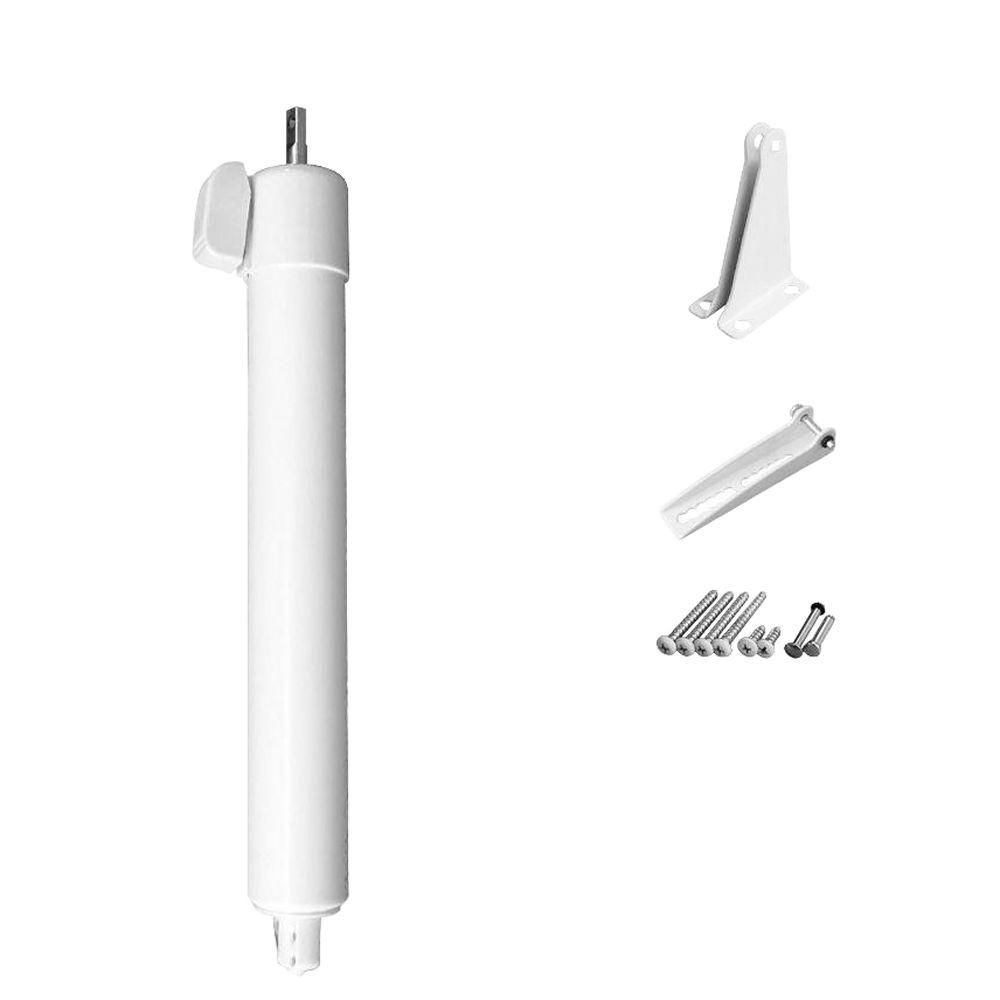 Greenstar Touch N Hold Heavy Duty Pneumatic Screen Storm And Security Door Closer Single Kit White Screen Door Closer Security Door Closet System
