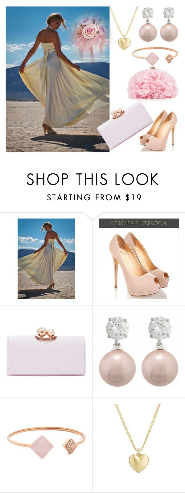"""""""Dress"""" by elma-993 ❤ liked on Polyvore featuring Ted Baker, Michael Kors, Finn and Betsey Johnson"""