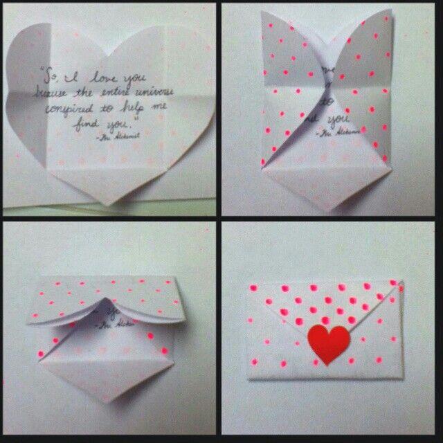 Love Letter Valentine Cards Handmade Valentines Diy Valentines Cards