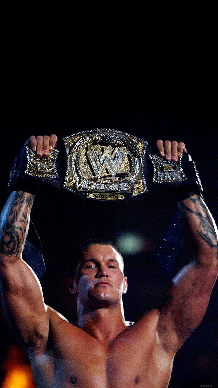 Wallpaper Randy Orton With Belt Wwe Wallpaper Hd Iphone Randy Orton Wwe Randy Orton Wwe Championship Belts