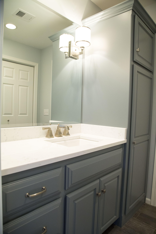 MSI Cashmere Carrara quartz, Kohler Archer undermount sink, American ...
