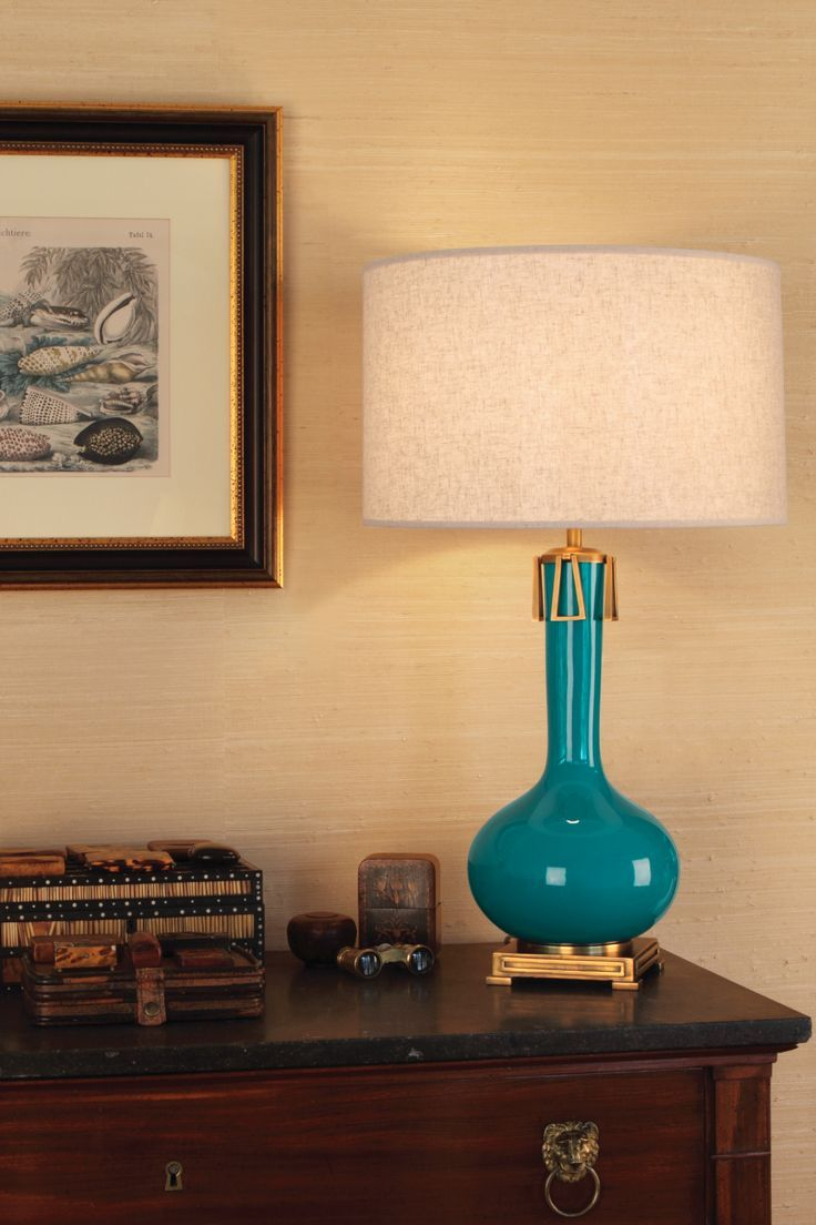 robert abbey inc  athena table lamp  how we grace the living  - robert abbey inc  athena table lamp