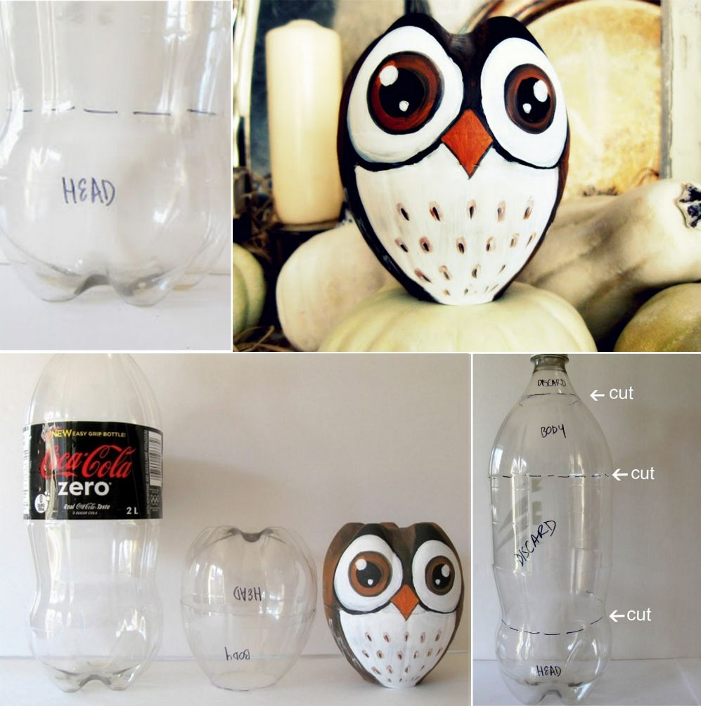 Plastic Bottle Owl Craft A Fun Recycle