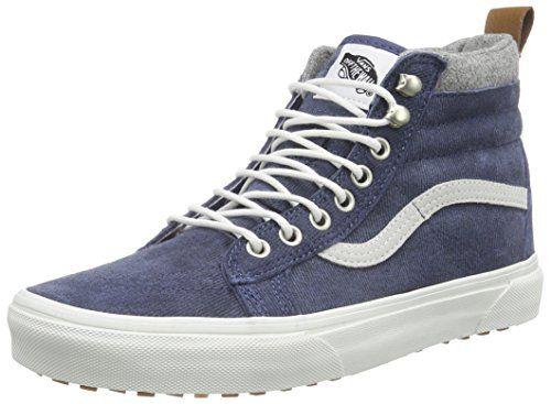 Vans SK8-Hi MTE, Sneakers Hautes Mixte Adulte, Gris (MTE/Charcoal/Herringbone), 36.5 EU (4 UK)