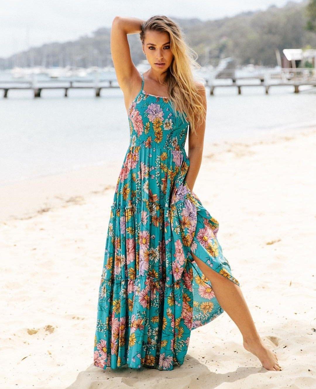 Pin By Alessandra On My Style Boho Summer Dresses Boho Fashion Floaty Summer Dresses