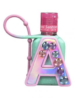 Holographic Rhinestone Initial Anti Bac My Daughters In 2019