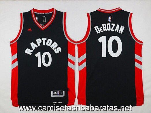 camiseta Toronto Raptors 2015-2016 negro #10 DeROZAN €19.99