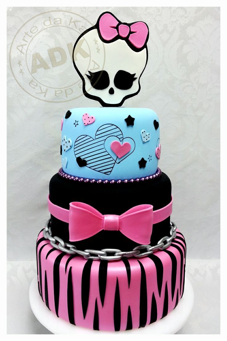 Monster High cake Lily Halloween Pinterest Monster high