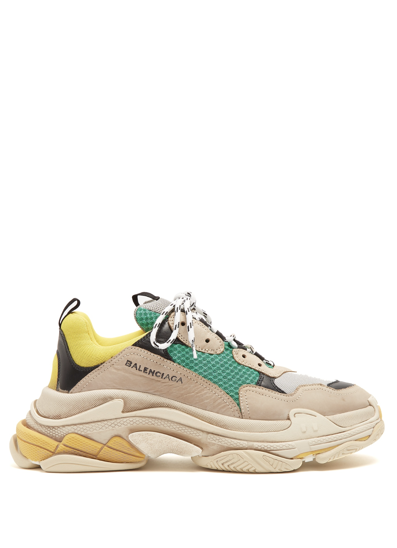 BALENCIAGA Triple S low-top trainers from Matches Fashion (men ... cdbb90be8f
