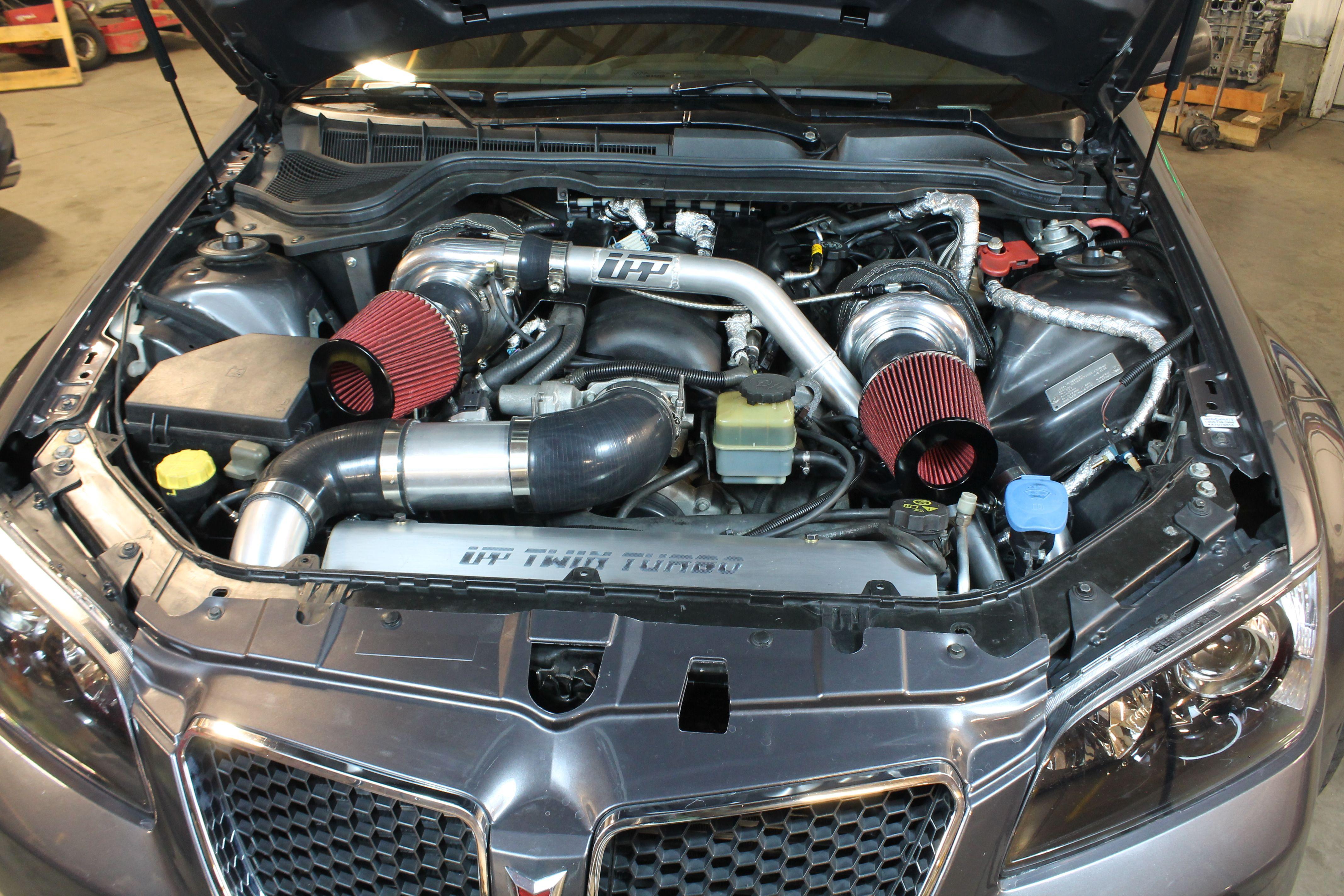 Upp Turbo Twin Turbo System Pontiac G8 Gt Project Turbo
