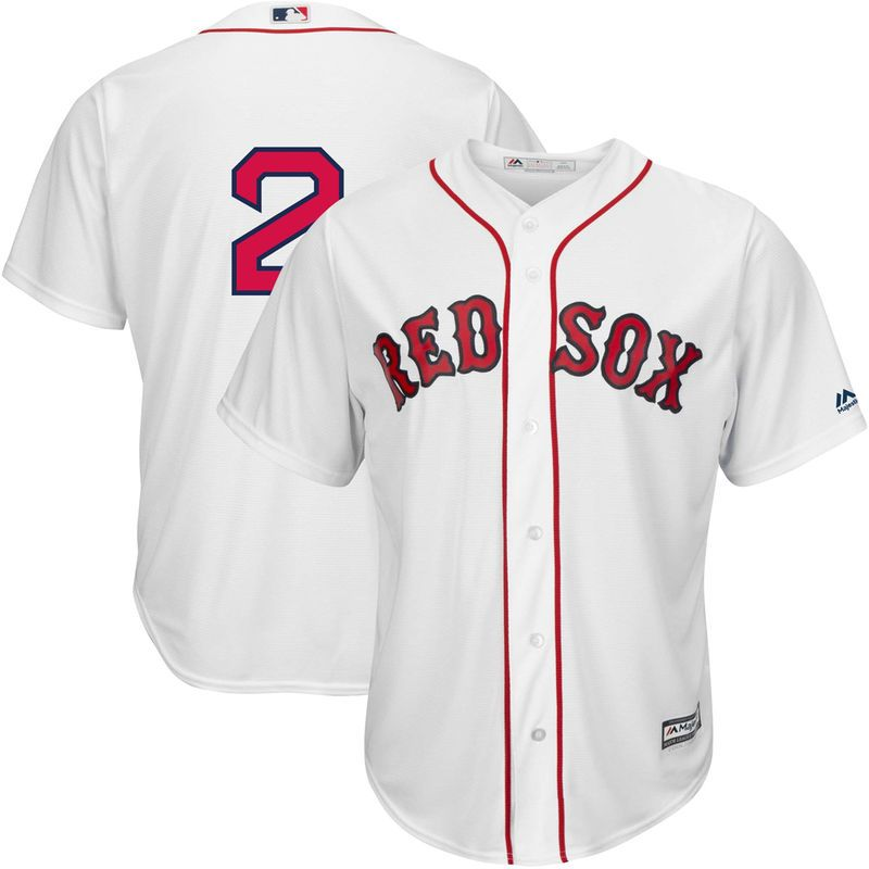 806173ed7 Men's Majestic Xander Bogaerts White Boston Red Sox Home Official Cool Base  Replica Player Jersey