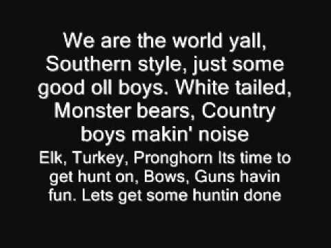 Colt Ford - Huntin The World Lyrics | MetroLyrics