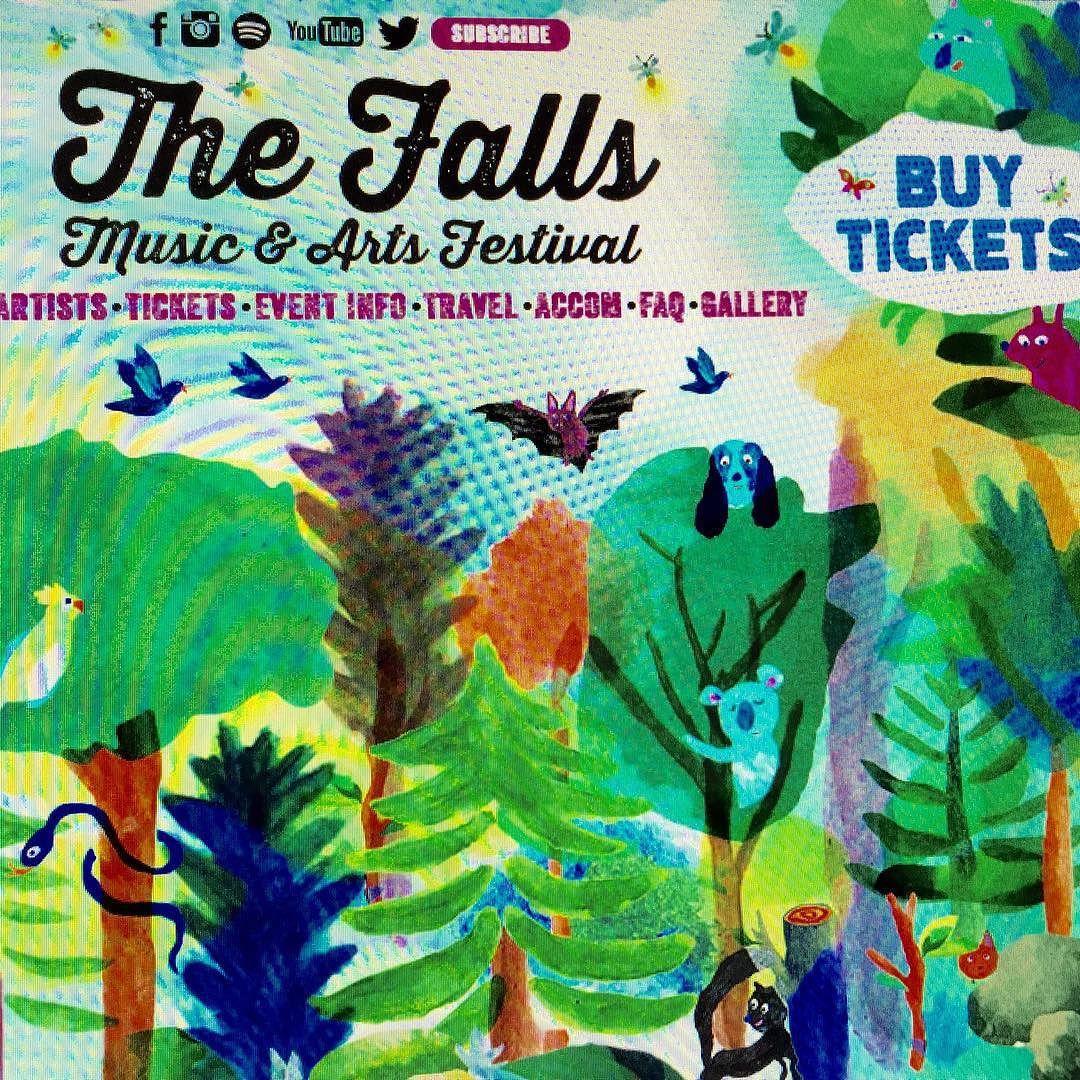 FALLS FESTIVAL who's going? #ashgrunwald  #birdsoftokyo  #melbourneskaorchestra #mightydukesandthelords #newyear #lorne #tasmania #byronbay #music #festival by musicplugshop http://ift.tt/1IIGiLS