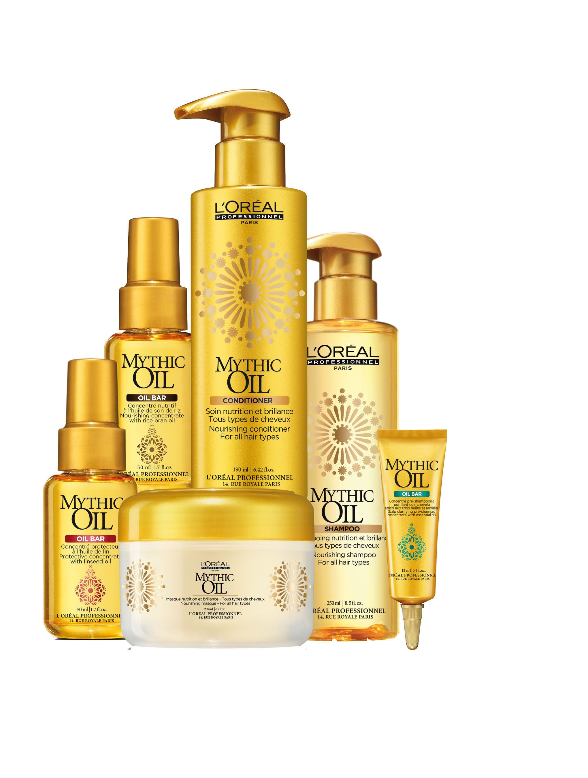 L OREAL PRODUCTS Mythic Oil Hair Care Products By LOreal L