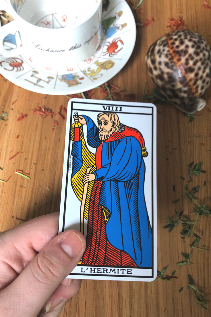 The Hermit: Predictive Tarot Card Meaning | Spirit | Tarot