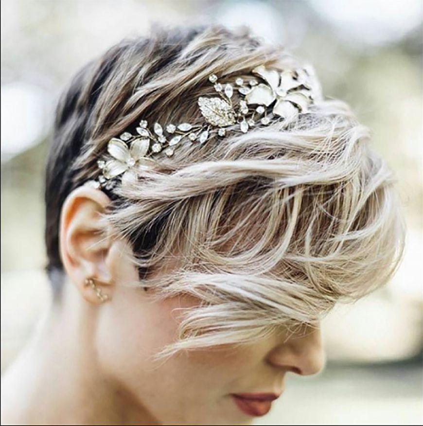Wedding Ideas By Colour Gold Hair Accessories