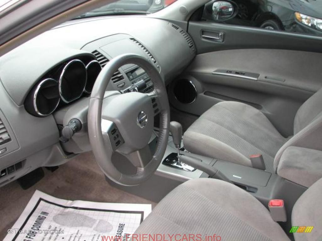 Perfect Awesome Nissan Altima 2005 Interior Car Images Hd Frost Gray Interior 2005  Nissan Altima 25 S Photo 44051060