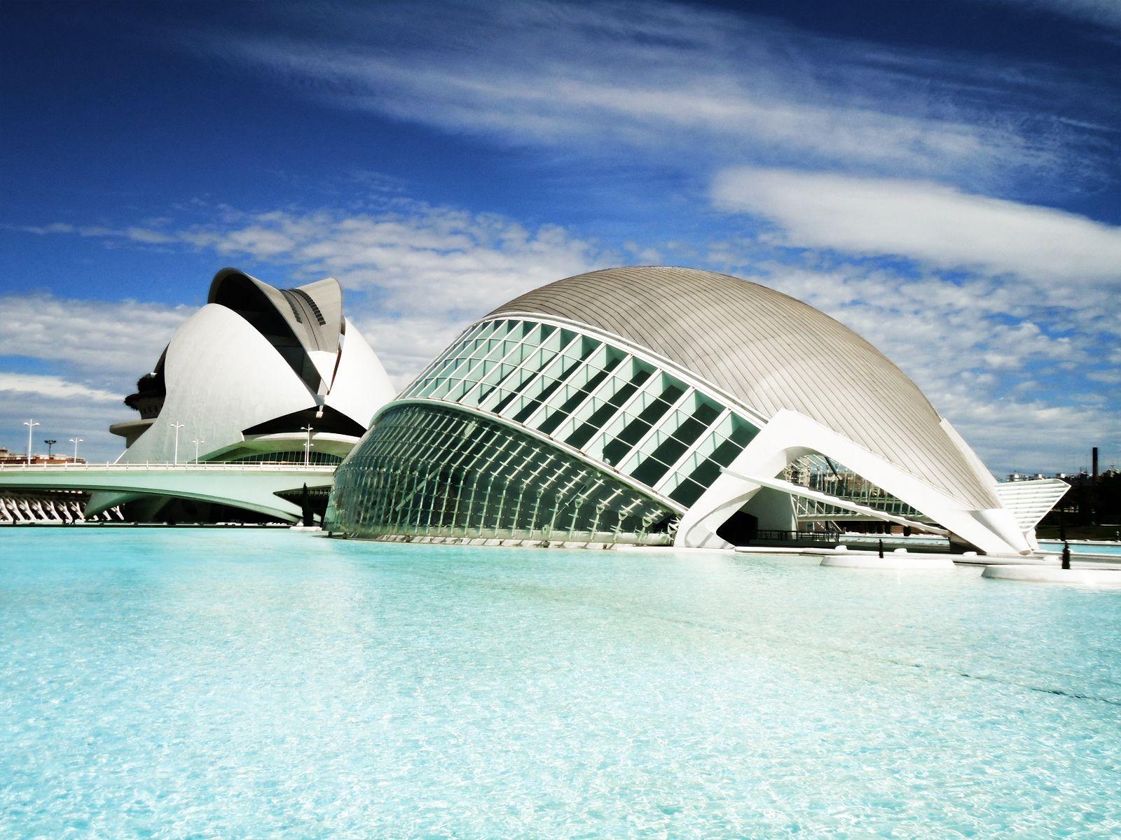 Ciudad de las Artes y las Ciencias #Valencia #Spain #Photography
