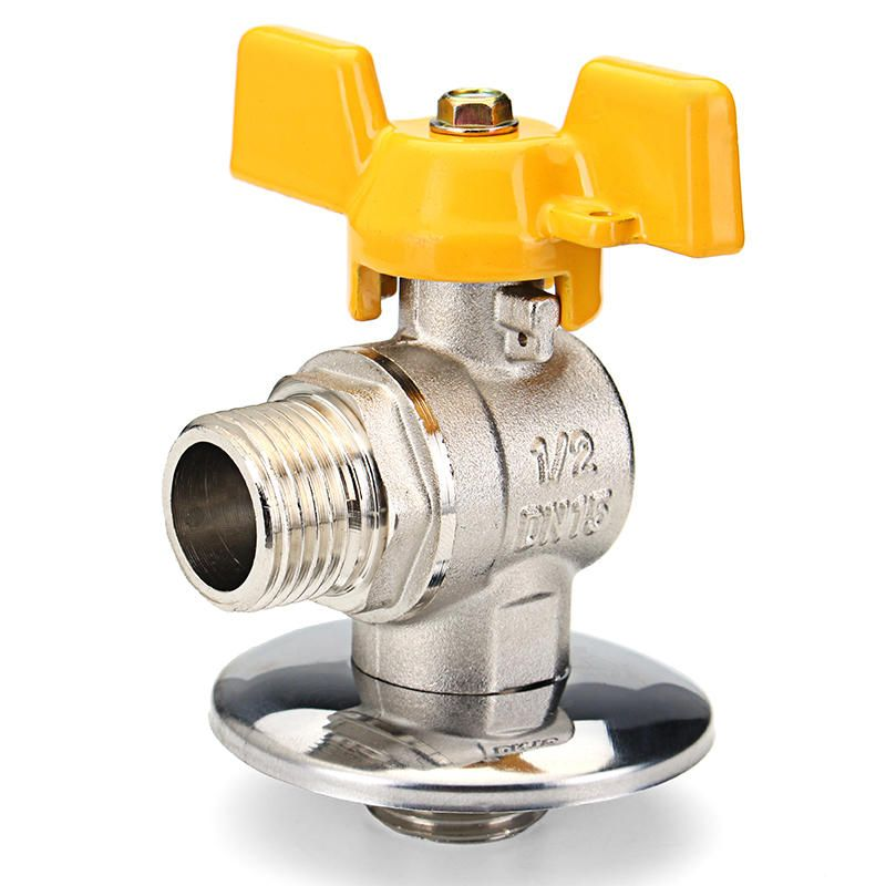 Us 8 41 Tmok 1 2 Pex Tube Triangle Valves Brass Angle Flare Gas Ball Valve Blue Handle For Water Mainfold Faucets From Home And Garden On Banggood Com Faucet Accessories Pex Tubing Flares