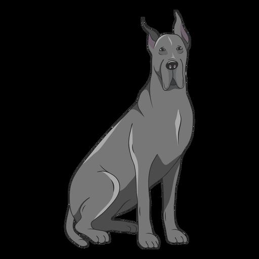 Great Dane Dog Illustration Ad Affiliate Affiliate Dane Dog Illustration Great Dog Illustration Dog Drawing Illustration
