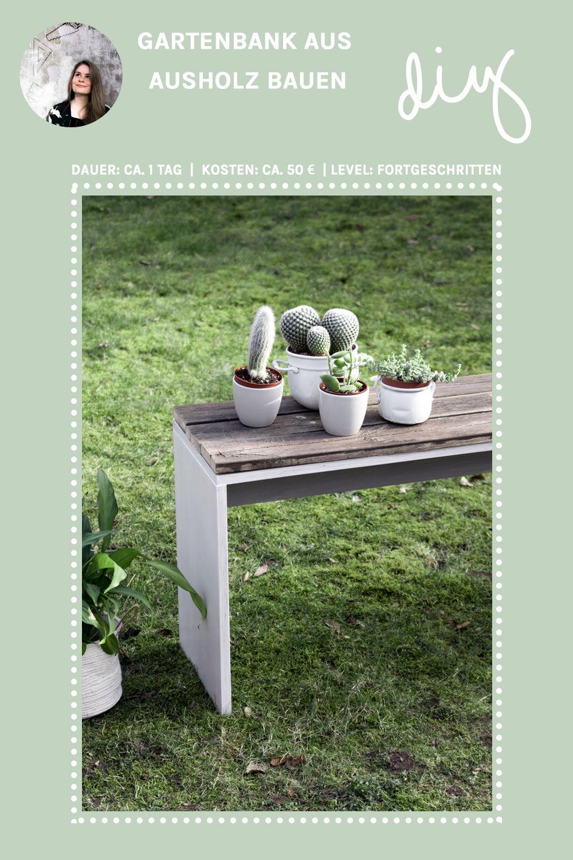 DIY Garten Möbel Selber Machen: DIY Gartenbank Mit Altholz Bauen| Upcycling  Projekt | DIY