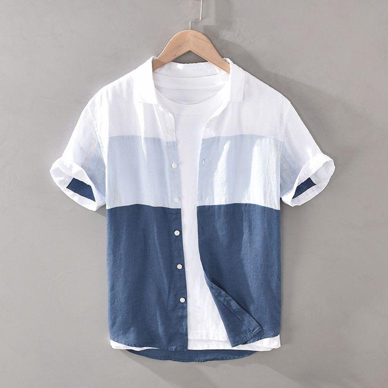 Regular Linen Marca Camisa Hombre find