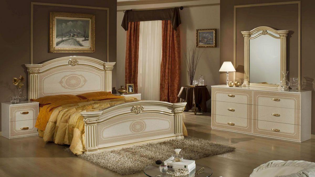 Opera Italian Classic Bedroom Bedroom Set Traditional Bedroom Sets Classic Bedroom