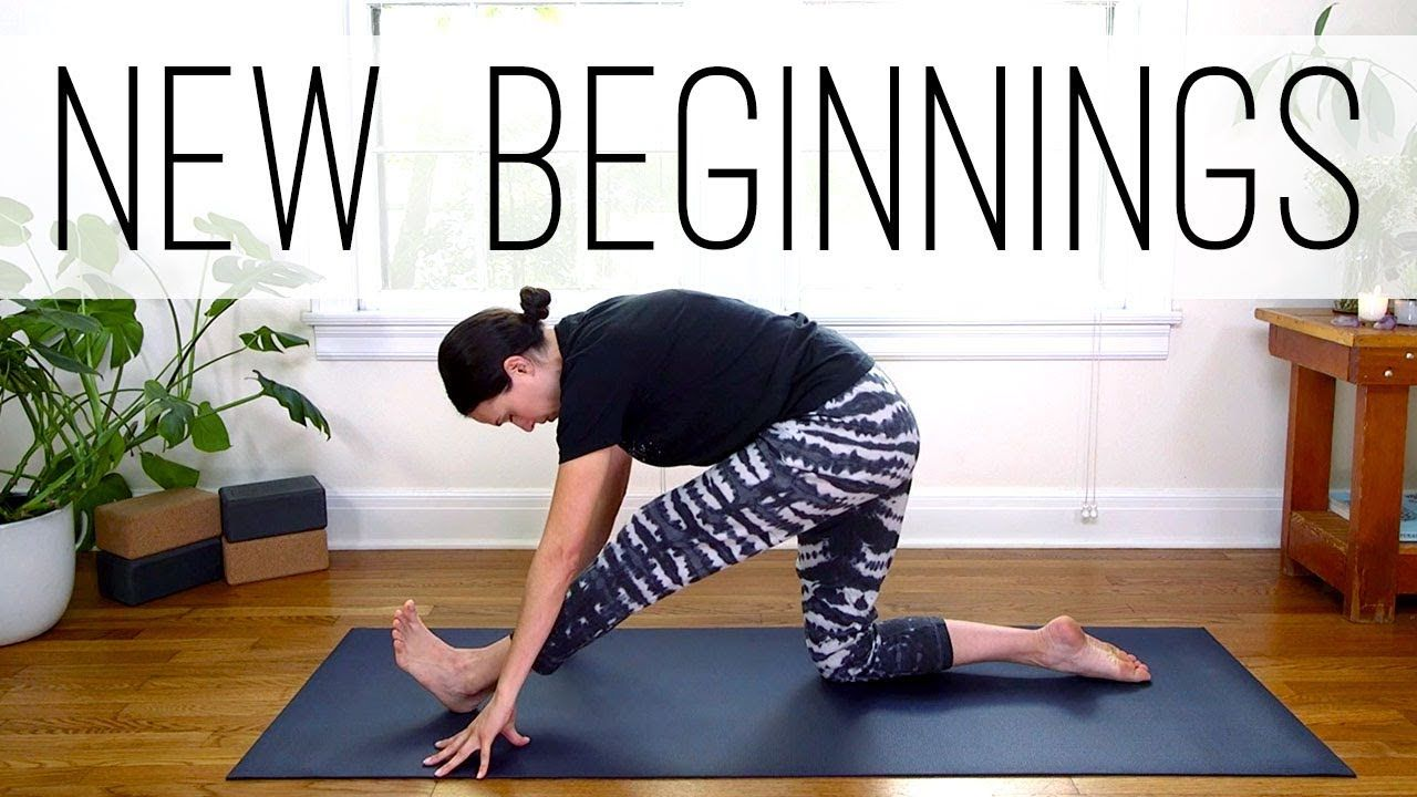 Yoga For New Beginnings | Yoga With Adriene | FIT