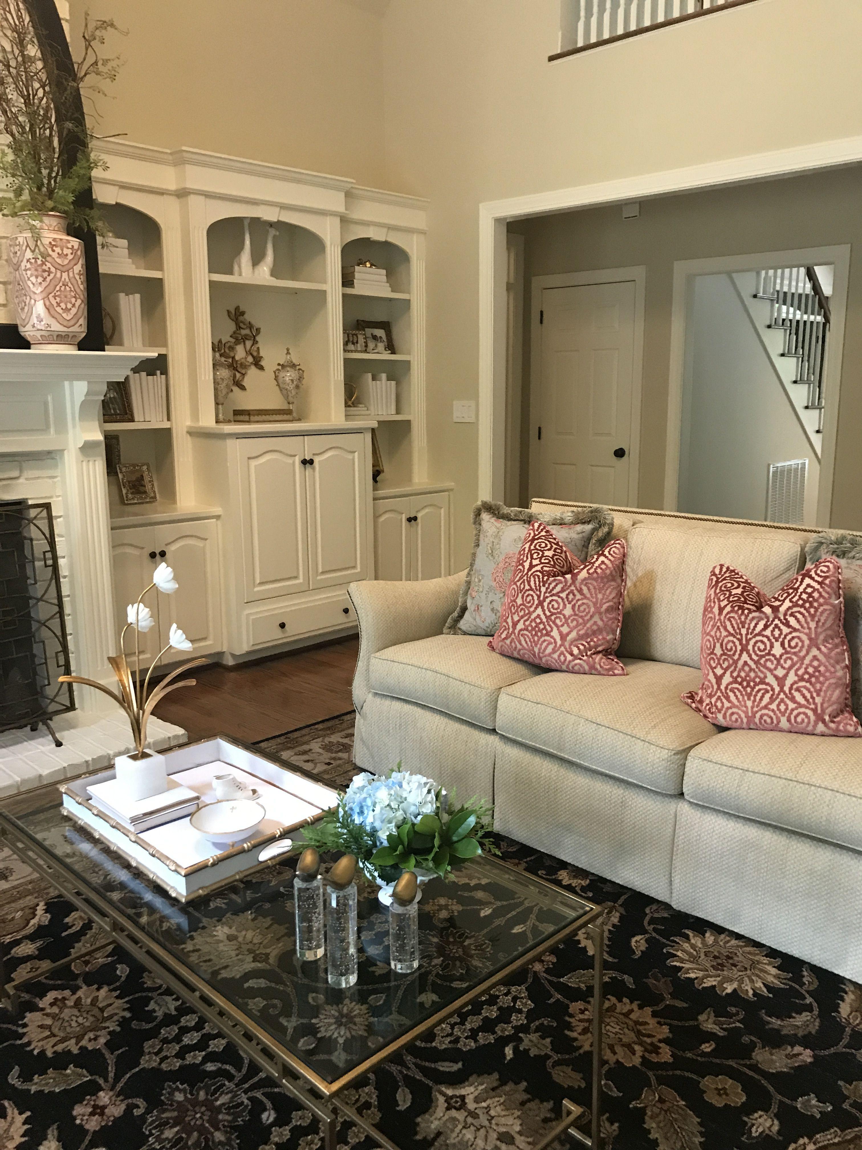 Elegant Living Room In Spartanburg Sc