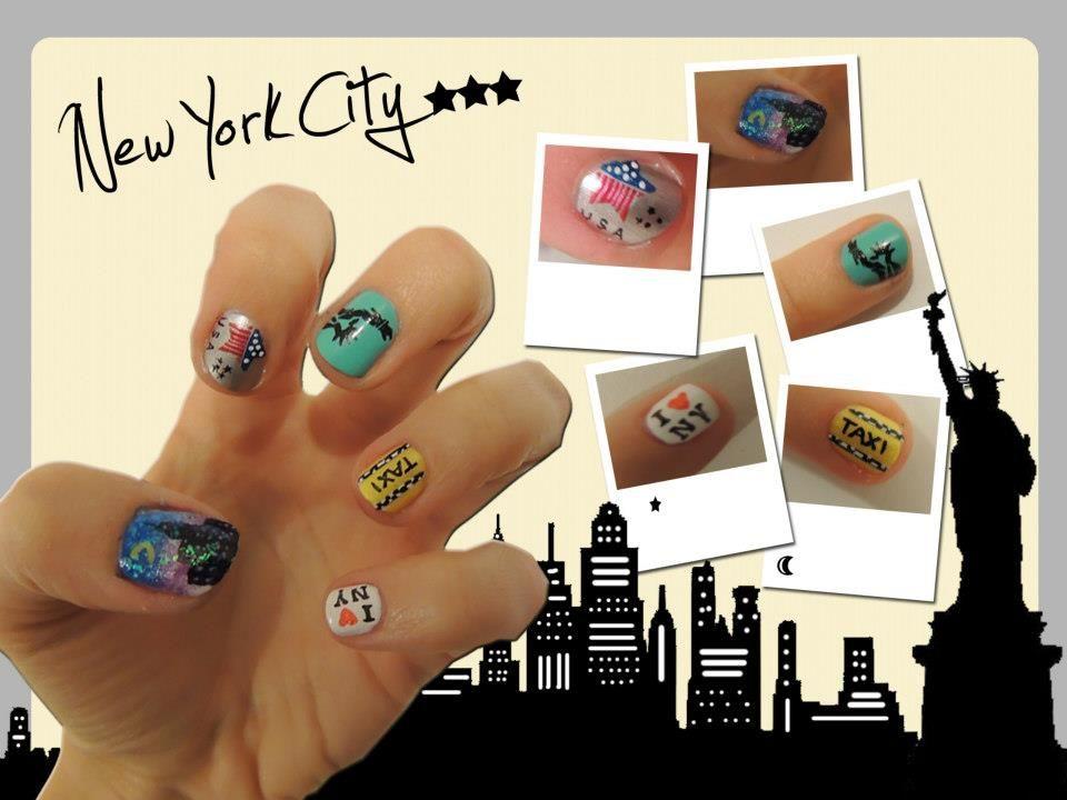 Bigcitypshiiit Les Resultats Nyc Nails City Nails Nail Art Summer