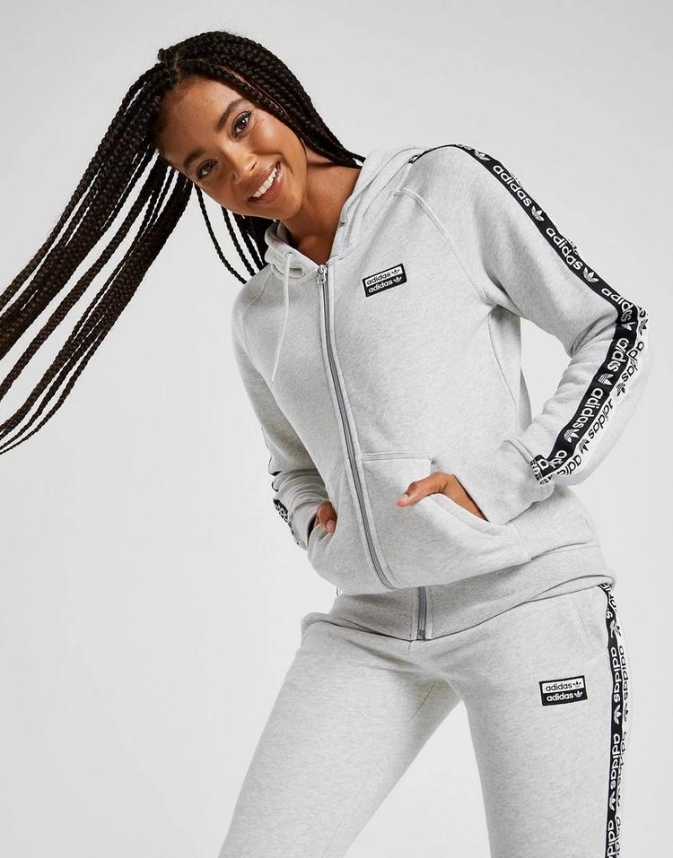 adidas Originals Tape Fleece Hoodie i 2020 | Festivaloutfits