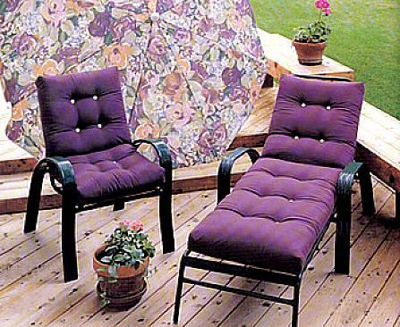 Lovely Purple Patio Furniture
