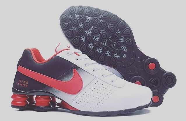 New Nike Shox Deliver Mens Shoes Red White and Black Size 9.5  fashion   clothing  shoes  accessories  mensshoes  athleticshoes (ebay link) e99818619
