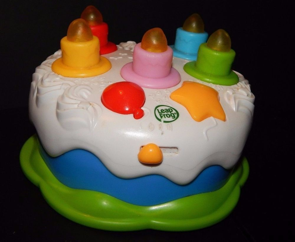 Leap Frog Counting Candles Birthday Cake Educational Learning Toy