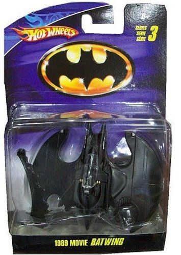 hot wheels 1989 movie batwing 1  50 scale diecast by mattel fuse dog