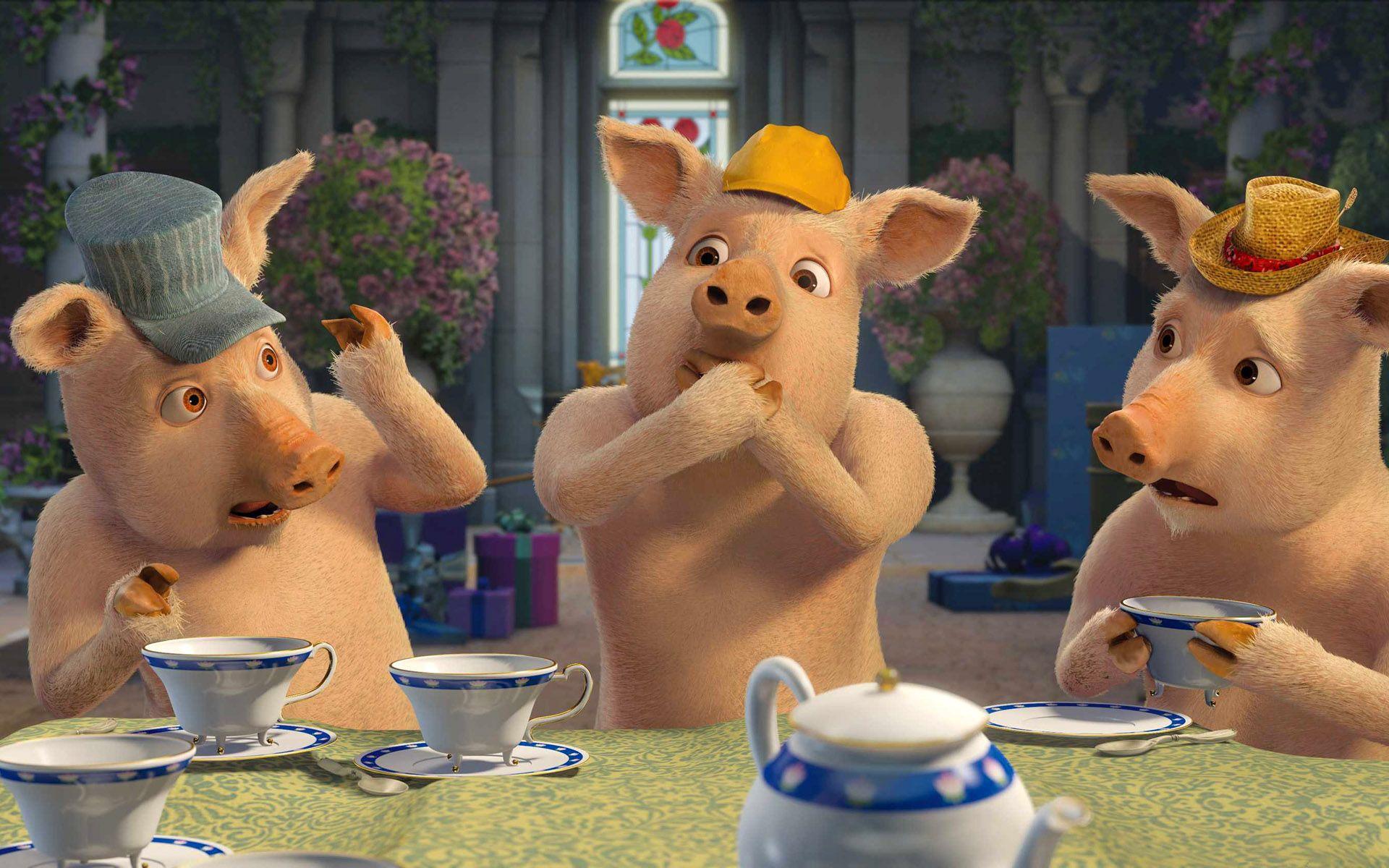 Three Little Pigs.(shrek) Shrek, Shrek character, Animal