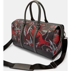 Photo of Leather Travel Bag With Print Ted BakerTed Baker